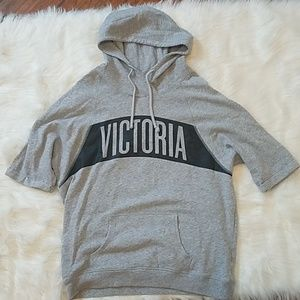 Victoria's Secret SS Grey Pullover Hoodie